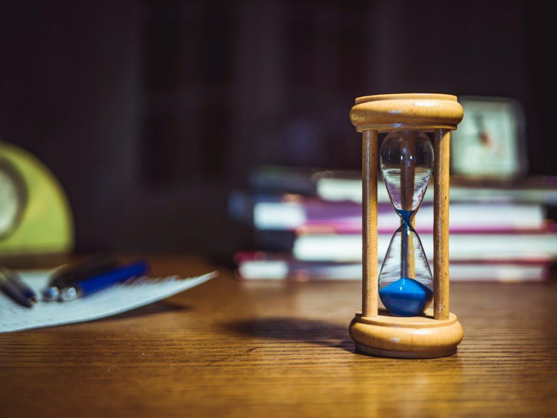 administração do tempo para o trabalho